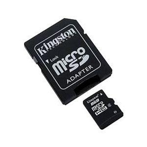 Carte Micro SD 8GB Kingston