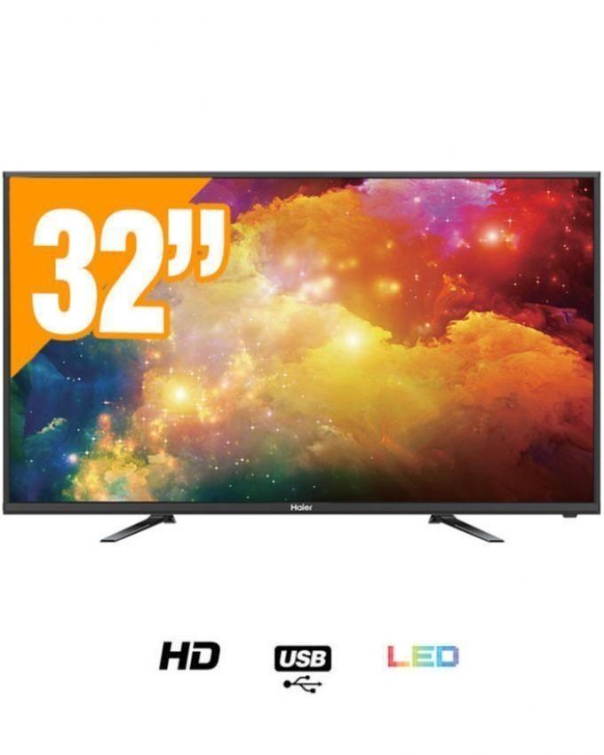 haier 32 tv led hd le32b8000t noir prix maroc achat en ligne sur lcd maroc. Black Bedroom Furniture Sets. Home Design Ideas