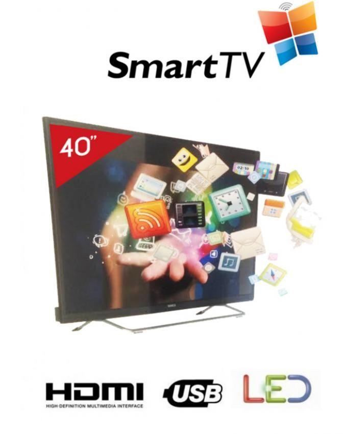 bianca led bianca 40 sfhd40ds600 smart tv achat en ligne sur lcd maroc. Black Bedroom Furniture Sets. Home Design Ideas