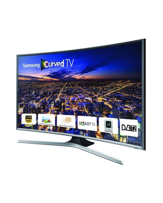 samsung 40 curved smart tv 40j6370 noir argent achat en ligne sur lcd maroc. Black Bedroom Furniture Sets. Home Design Ideas