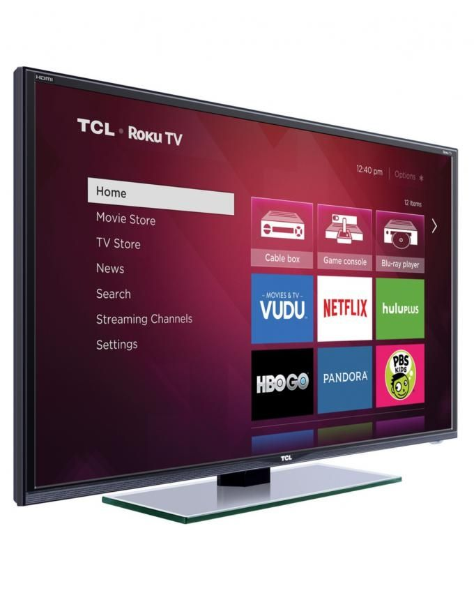 tcl tv 32 smart tv led 32d2740 noir achat en ligne sur lcd maroc. Black Bedroom Furniture Sets. Home Design Ideas