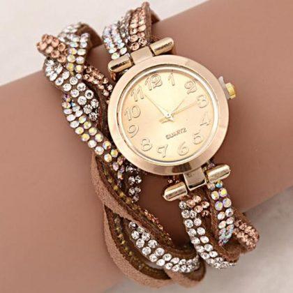 TOP MODEL Montre Bracelet Elena - Marron - Achat en ligne sur Lcd Maroc 51dc8d33816