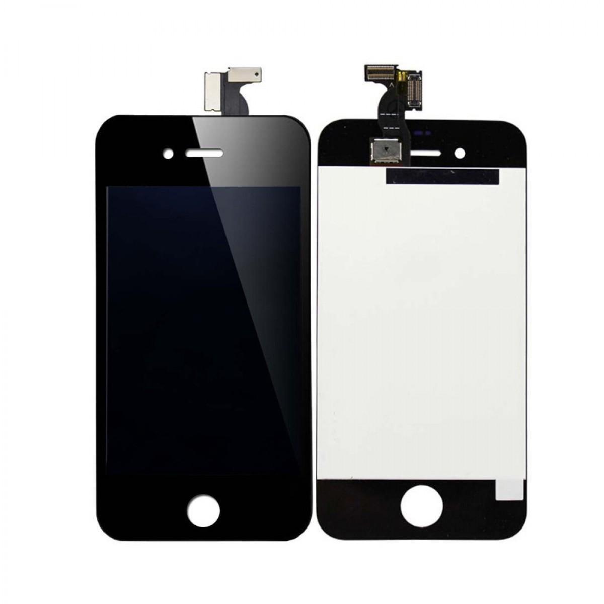 cran iphone 4s noir achat en ligne sur lcd maroc. Black Bedroom Furniture Sets. Home Design Ideas