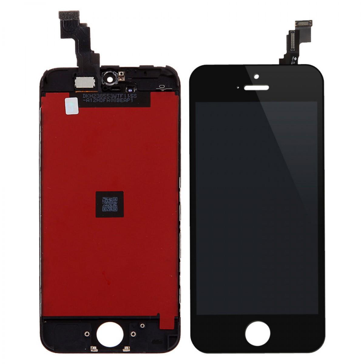 Cran iphone 5c noir achat en ligne sur lcd maroc for Ecran photo noir iphone 5