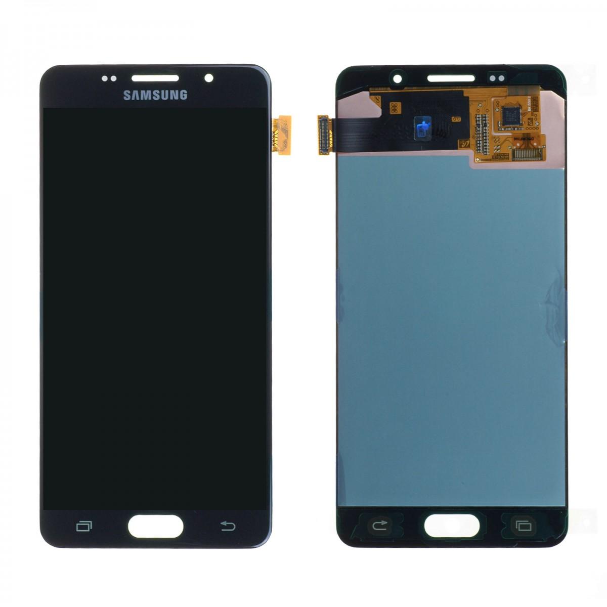 Cran samsung galaxy a5 2016 a510f noir origine achat for Photo ecran samsung a5