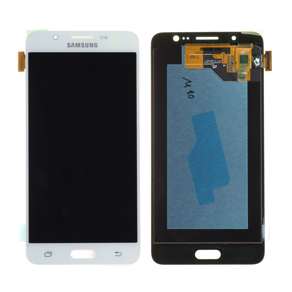 Cran samsung galaxy j5 2016 j510f blanc achat en for Photo ecran galaxy j5