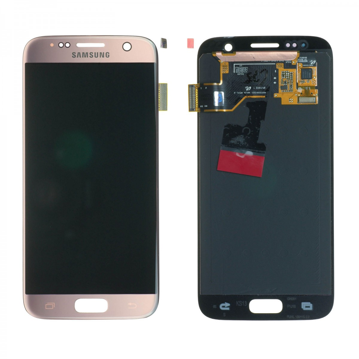 Cran samsung galaxy s7 g930f rose achat en ligne sur for Photo ecran galaxy s7
