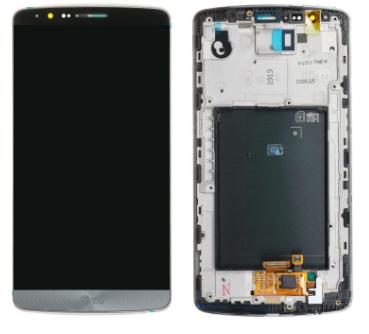 ÉCRAN COMPLET LG G3 (D855) NOIR ORIGINE prix-maroc