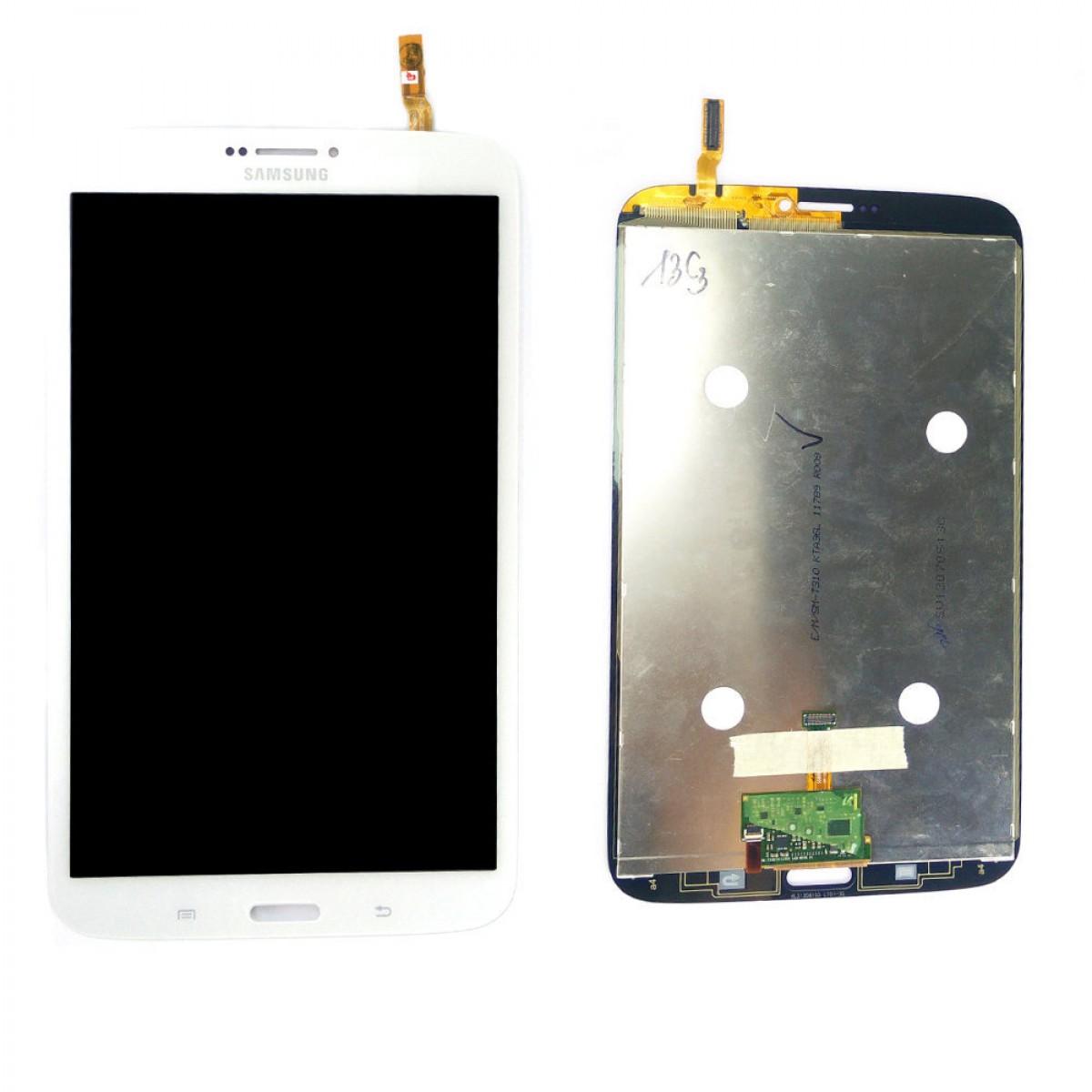 Cran samsung galaxy tab 3 8 0 t315 4g blanc achat en for Photo ecran galaxy tab 3