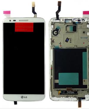 ÉCRAN COMPLET LG G2 (D802) BLANC ORIGINE prix-maroc