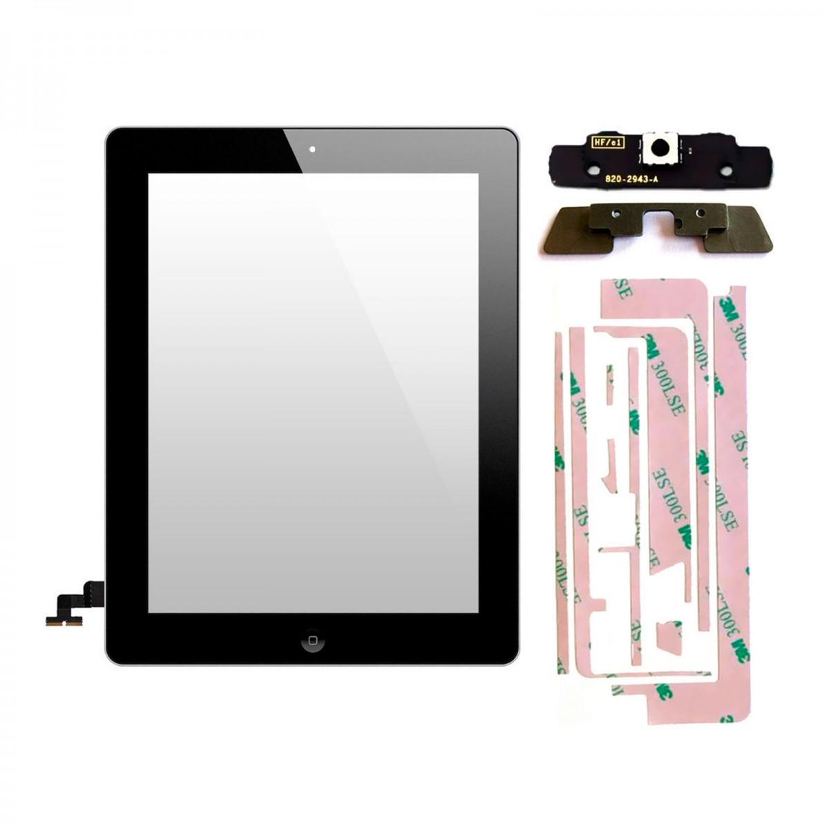 vitre tactile ipad 2 noir achat en ligne sur lcd maroc. Black Bedroom Furniture Sets. Home Design Ideas