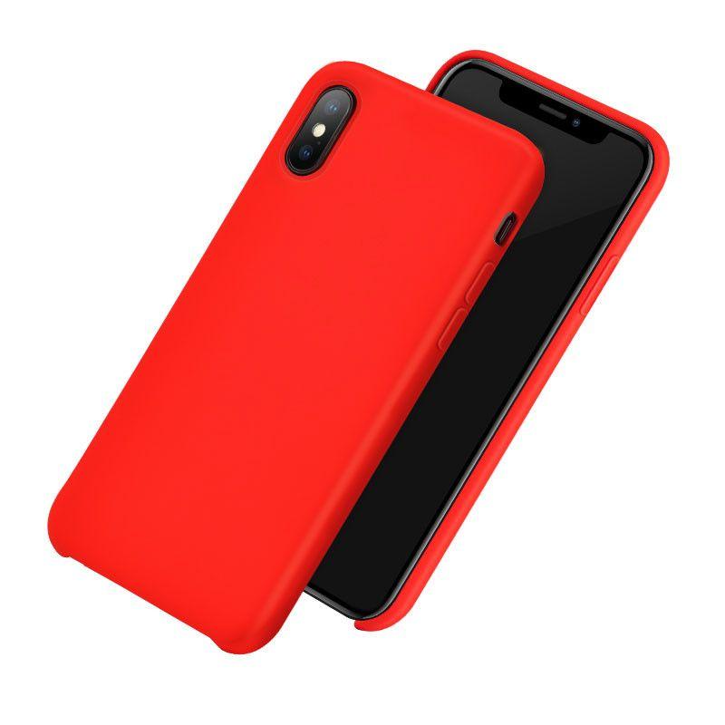 apple iphone coque silicone hoco pure series couleur rouge 1 3 lcdmaroc