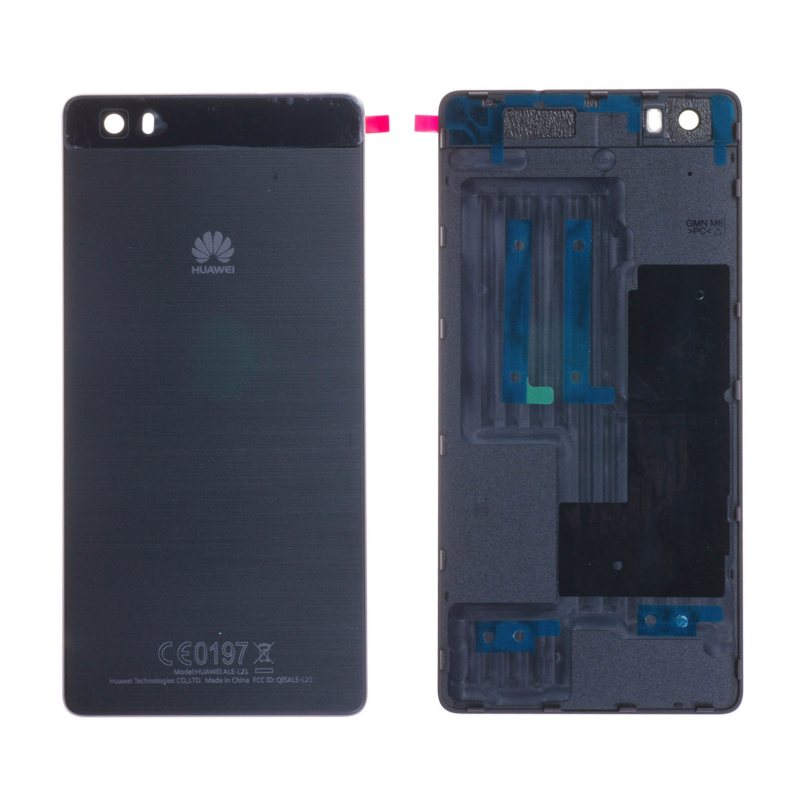 Coque arrière Huawei P8 Lite (ALE-L21) Noir
